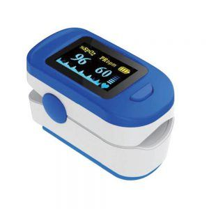 ACCARE Pulse Oximeter on white background